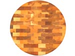 Round Canadian Rock Maple End Grain