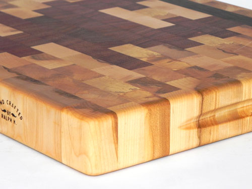Maple End Grain Inukshuk