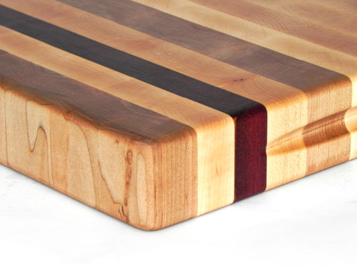 Maple End Grain with Jatoba