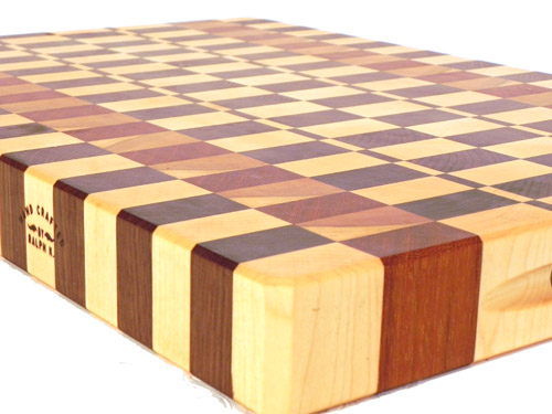 Jatoba, Maple, Walnut, and Cherry