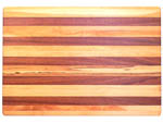 Jatoba and Cherry Edge Grain