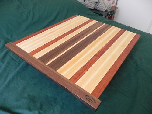 Edge Grain Pullout Chopping Board