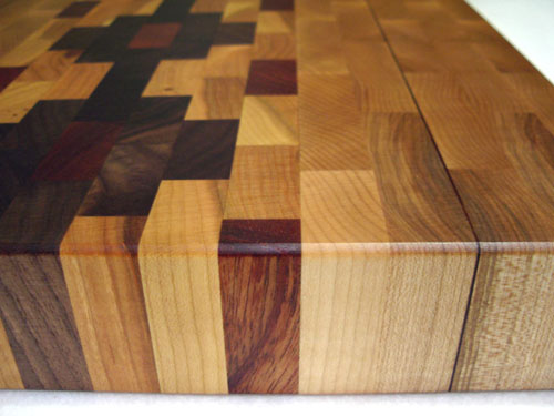 Cherry, Walnut, African Mahogany & Canadian Rock Maple