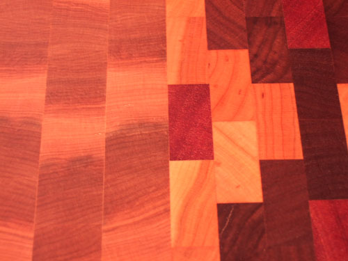 Canadian Rock Maple, Cherry, Walnut & African Mahagony