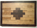 Walnut & Canadian Rock Maple Navaho Mosaic